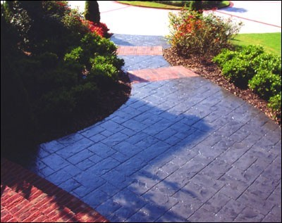 Walkways Concrete Upgrades Concrete Staining Stamping