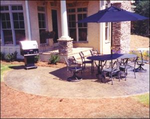 patios and porches concrete upgrades concrete staining stamping